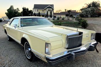 Continental Mark V Coupe Cartier Edition