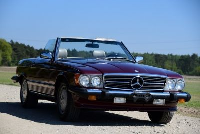 560 SL Convertible