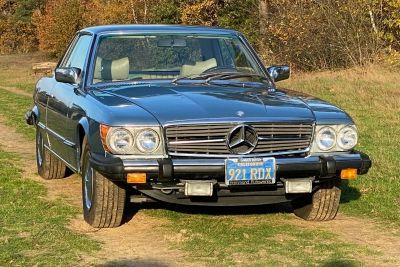 Mercedes-Benz 450 SLC (W107)