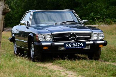 Mercedes-Benz 380 SL Convertible