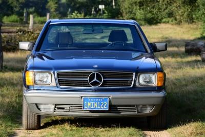 Mercedes-Benz 500 SEC Coupe (W126)